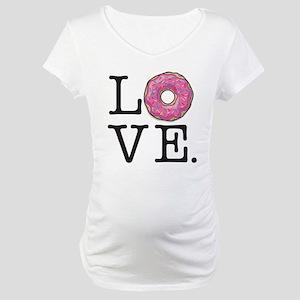 Donut Love Funny Food Humor Maternity T-Shirt
