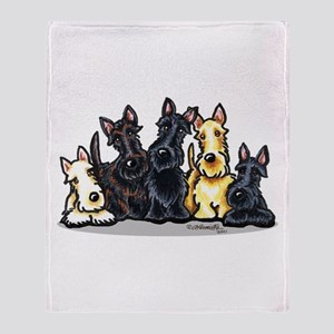 Scottie 5 Throw Blanket