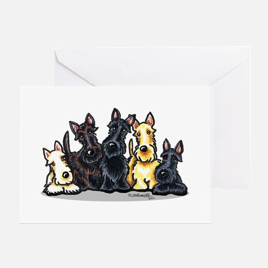 Scottie 5 Greeting Card