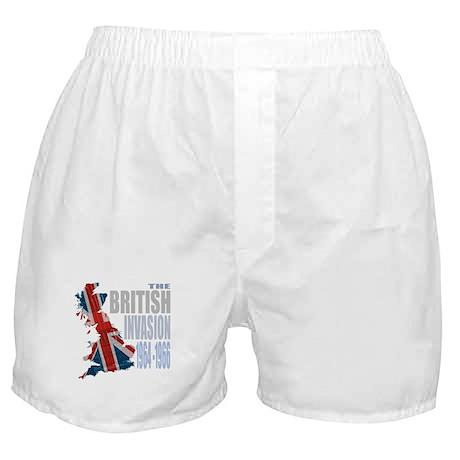 British Invasion Boxer Shorts