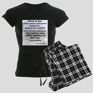 littlebombs Women's Dark Pajamas