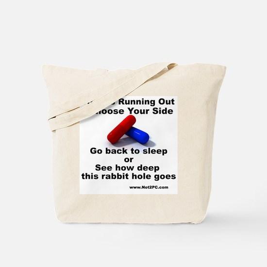 redbluepill Tote Bag