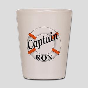 Captain Ron Shot Glass