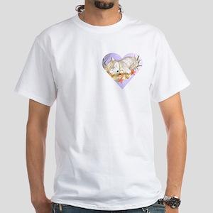 Little wolf sleeping White T-Shirt