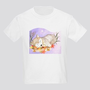 Little wolf sleeping Kids T-Shirt
