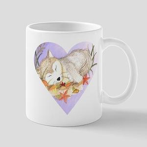 Little wolf sleeping Mug