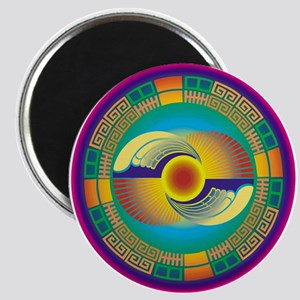 Mayan Crop Circle Magnet