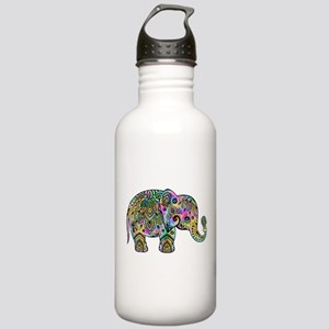 Colorful paisley Eleph Stainless Water Bottle 1.0L