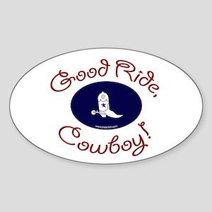 Good Ride Oval Sticker