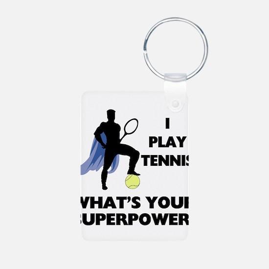 Tennis Superhero Keychains