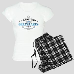 US Navy Great Lakes Base Women's Light Pajamas