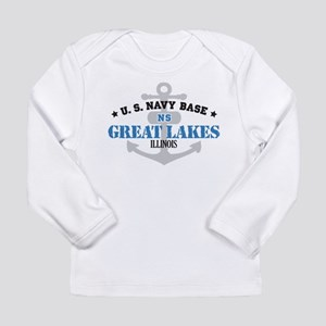 US Navy Great Lakes Base Long Sleeve Infant T-Shir