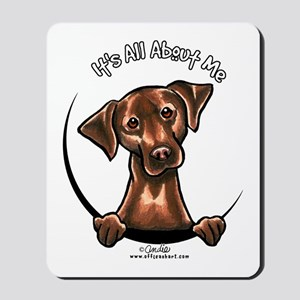 Chocolate Lab IAAM Mousepad