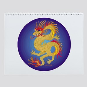 Golden Dragon Wall Calendar