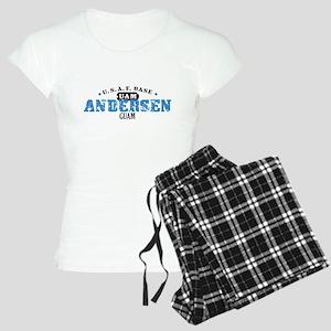 Andersen Air Force Base Women's Light Pajamas