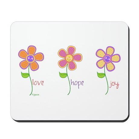 Inspiring Daisies Mousepad