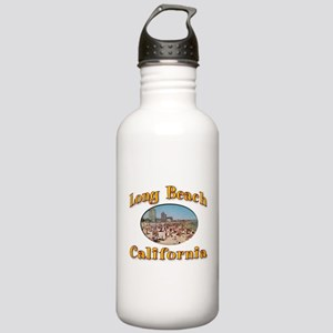 Vintage Long Beach Stainless Water Bottle 1.0L