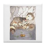 wolf cubs Tile Coaster