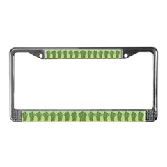 Asparagus License Plate Frame