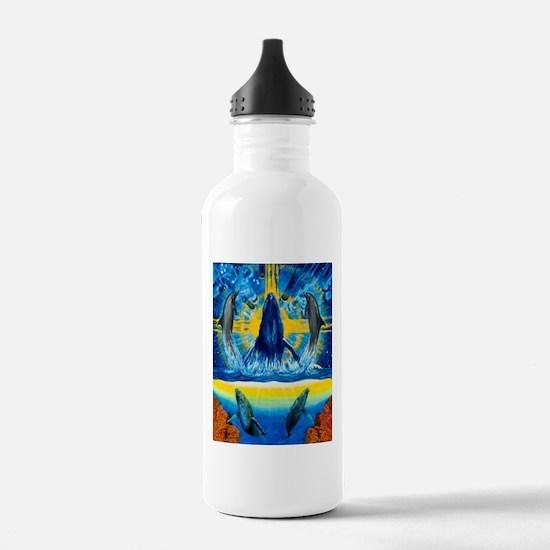 Peace in the Water Water Bottle