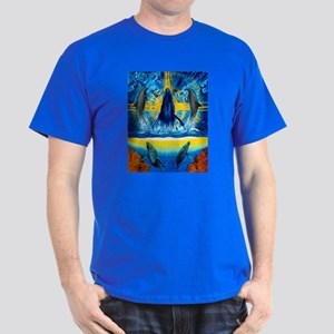 Peace in the Water Dark T-Shirt