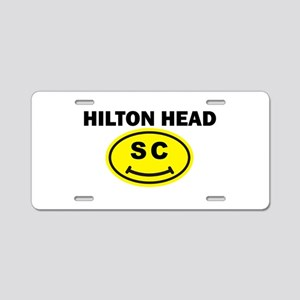 Hilton Head SC Smile(TM) Aluminum License Plate