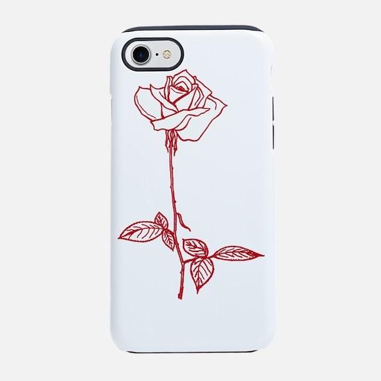 Long Stem Rose iPhone 7 Tough Case