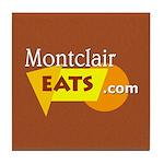 Montclair Eats Ceramic Tile Coaster