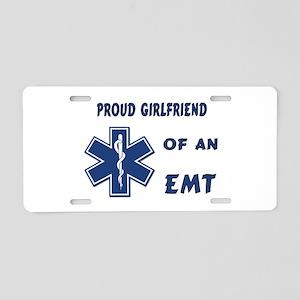 EMT Girlfriend Aluminum License Plate