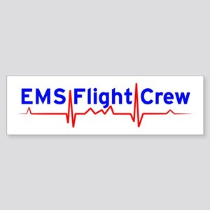 EMS Flight Crew - (same image front & back) Sticke