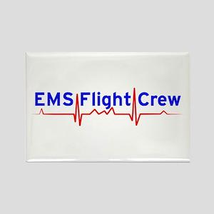 EMS Flight Crew - (same image front & back) Rectan