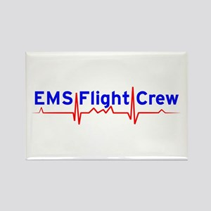 EMS Flight Crew - (same image front & back) Rectan