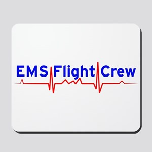 EMS Flight Crew - (same image front & back) Mousep