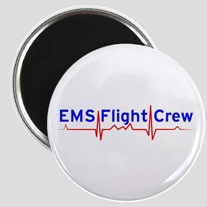 """EMS Flight Crew - (same image front & back) 2.25"""""""