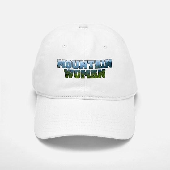Mountain Woman Baseball Baseball Cap