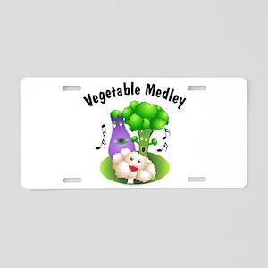Vegetable Medley Aluminum License Plate