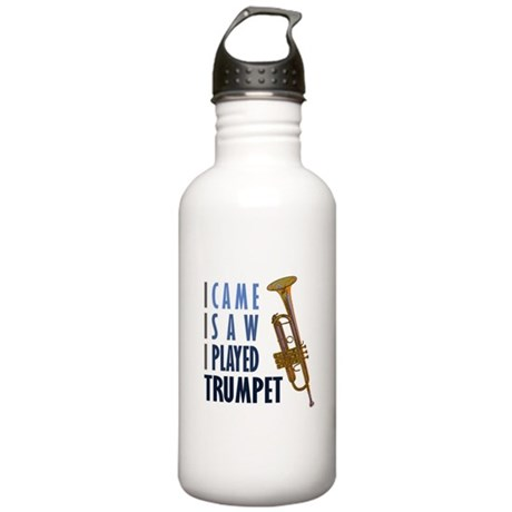 I Played Trumpet Stainless Water Bottle 1.0L
