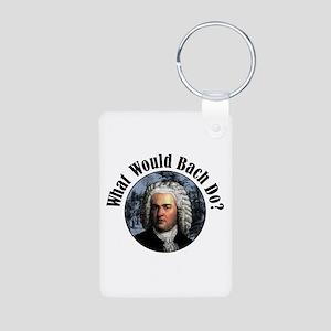 Bach Aluminum Photo Keychain