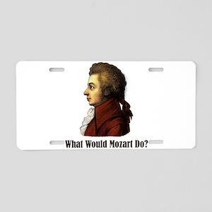 Mozart Aluminum License Plate