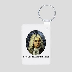 I Can Handel It Aluminum Photo Keychain