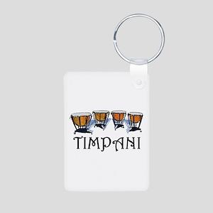 Timpani Aluminum Photo Keychain