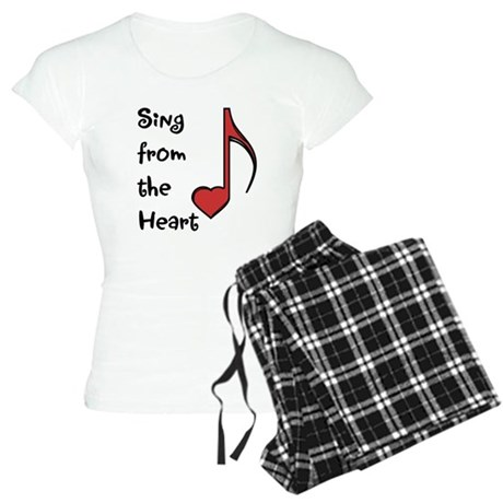 Sing from the Heart Women's Light Pajamas