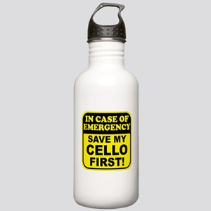 Save My Cello Stainless Water Bottle 1.0L