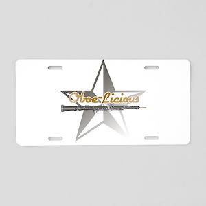 Oboe - Licious Aluminum License Plate