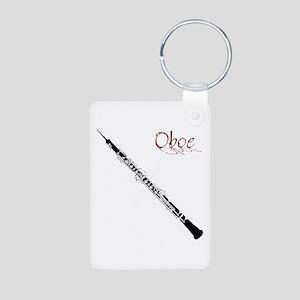 Oboe Aluminum Photo Keychain