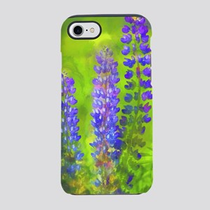 Lupines iPhone 7 Tough Case