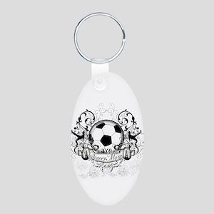 Soccer Mom Aluminum Oval Keychain