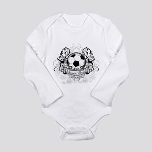 Soccer Mom Long Sleeve Infant Bodysuit
