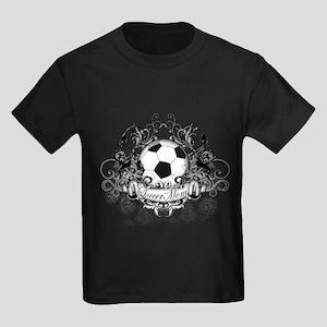 Soccer Mom Kids Dark T-Shirt