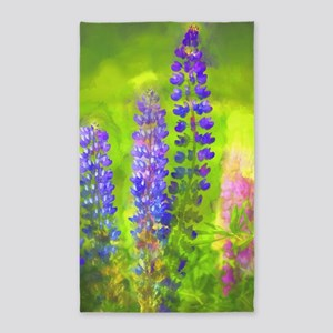 Lupines Area Rug